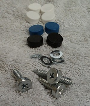 Number Plate Screws (4)